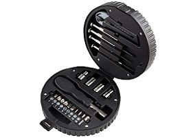 20 Pcs Tyre Shape Multipurpose Toolkit